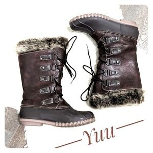 YUU Fiona Cold Weather Outdoor  Boots